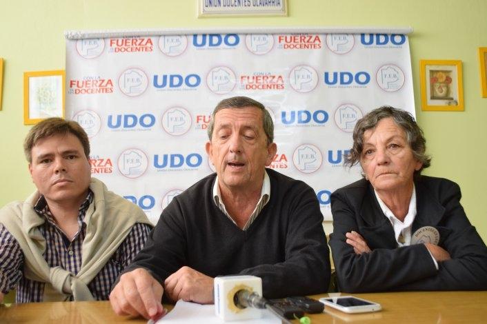 """""""Hay descuentos abusivos y discriminatorios a docentes de la FEB"""""""