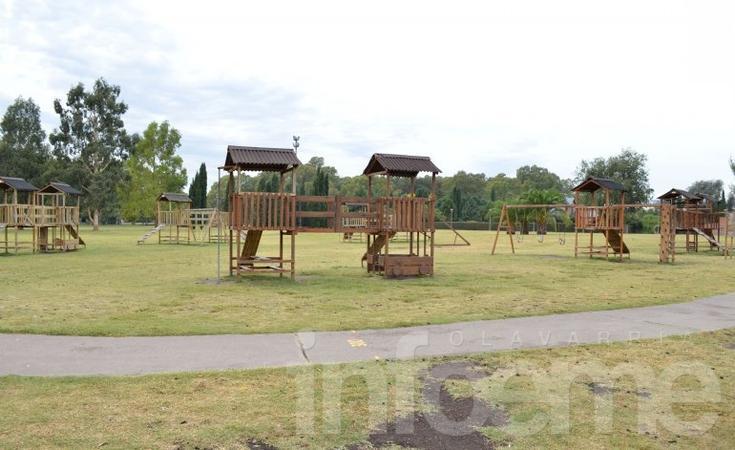 Instalarán nuevos juegos en los parques Mitre y Eseverri