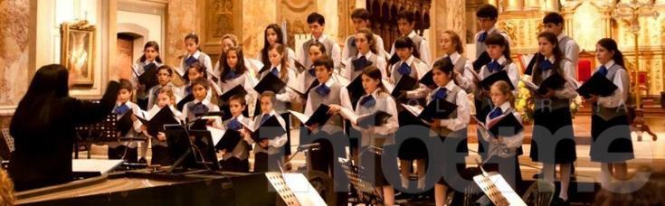 El Coro Nacional de Niños estará en Olavarría