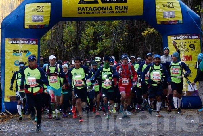 Olavarrienses compitieron en el Patagonia Run