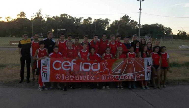 """El CEF 100 participó del """"Rolando Rodríguez"""""""