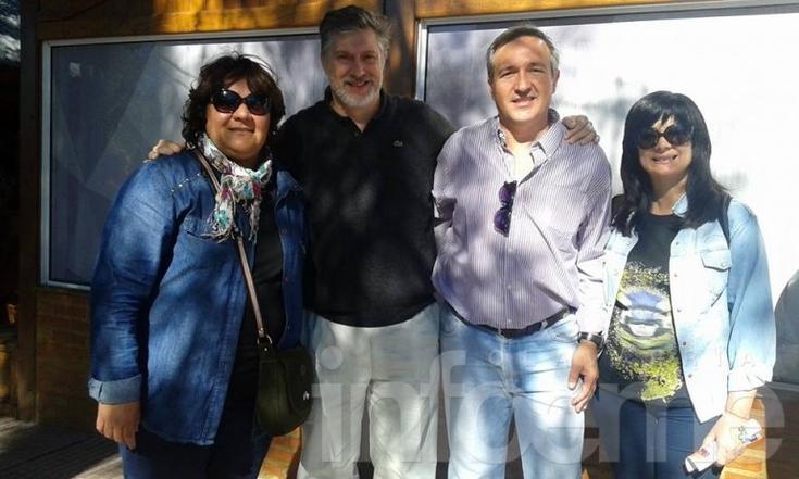 """El proyecto solidario """"La Minga"""" visitó el Puerto de Frutos"""