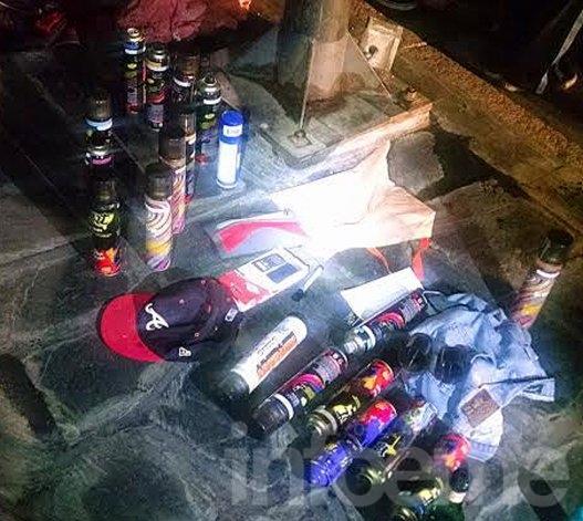Jóvenes deberán cumplir tareas comunitarias por pintadas ilegales