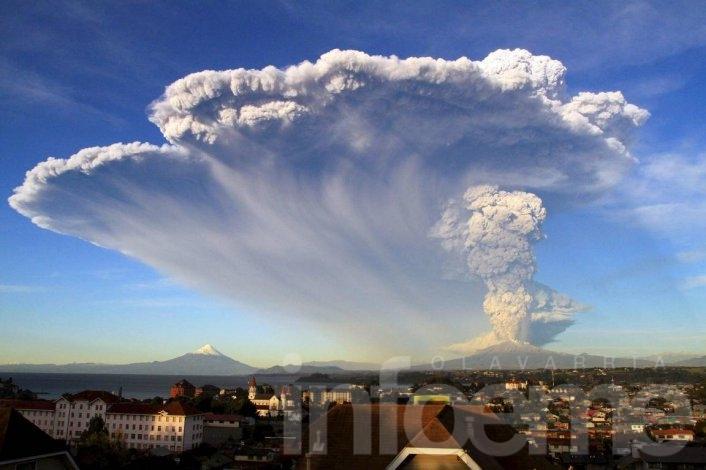 Un olavarriense cuenta cómo se vivió la explosión del volcán Calbuco desde Bariloche