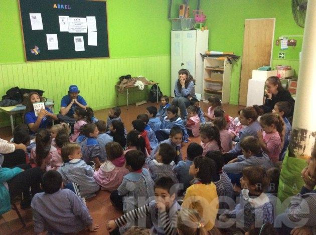 Jornadas educativas en el Jardín N° 912