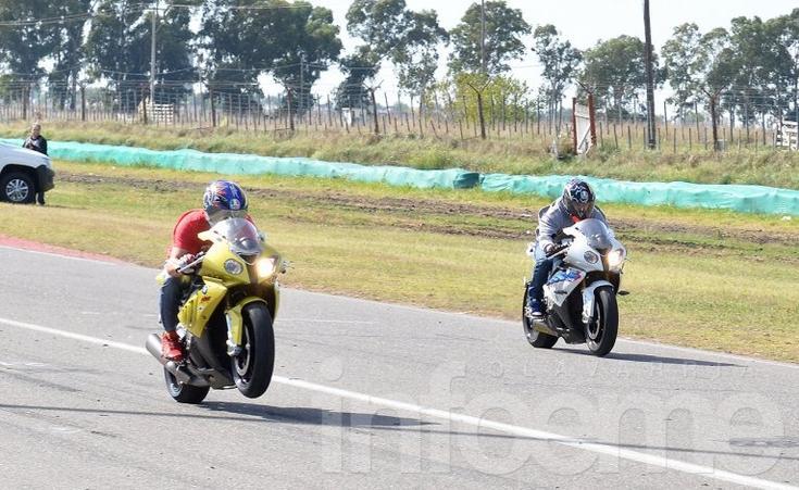 Las motos fueron la gran atracción del cuarto de milla