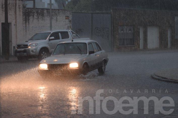 Alerta metereológico por intensas lluvias