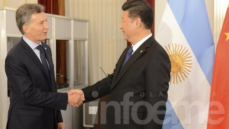 Macri se reunió con su par chino en Washington
