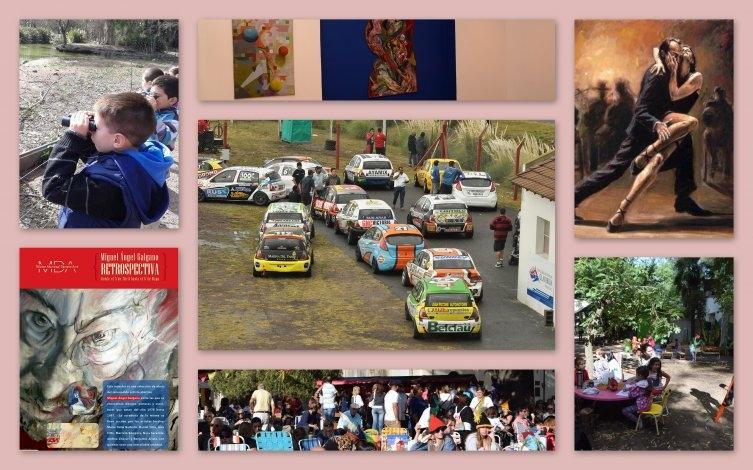Inauguramos abril con kreppel, muestras, aniversarios y mucho automovilismo