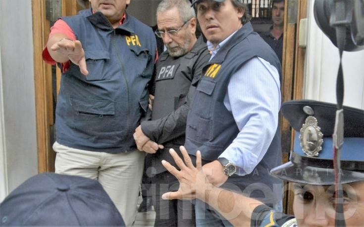 Ricardo Jaime se entregó: mirá el video de su detención