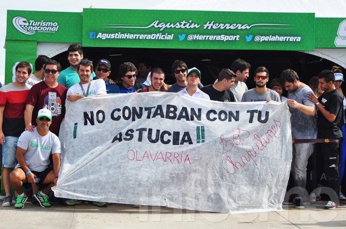 Agustín Herrera fue segundo y emocionó a todos