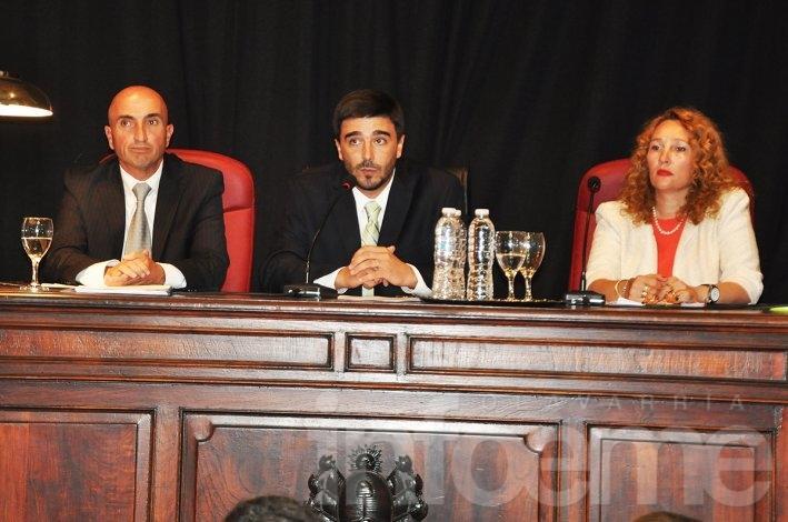 Rodríguez destacó la colaboración de concejales con Galli