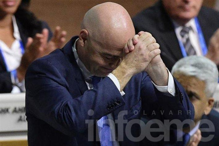 El presidente de la FIFA, Gianni Infantino y los Jinkis enredados en los Panama Papers