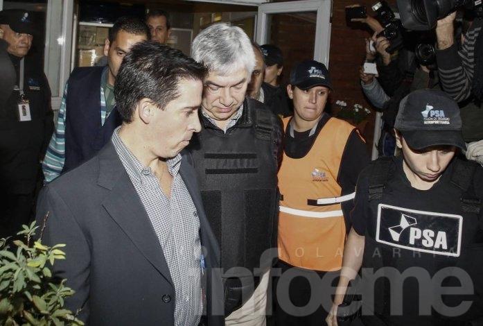 Lázaro Báez se negó a declarar y seguirá preso