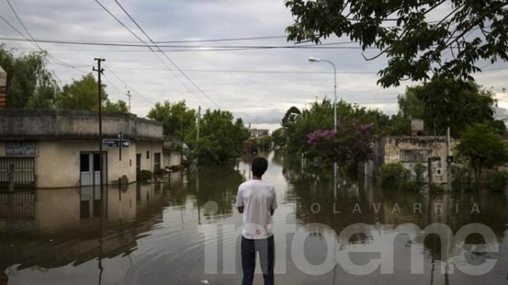 El Litoral argentino inundado: más de 8 mil evacuados