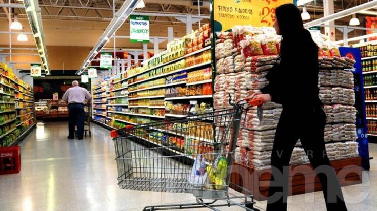 La canasta básica de alimentos subió en Olavarría un 6,46% en el primer trimestre