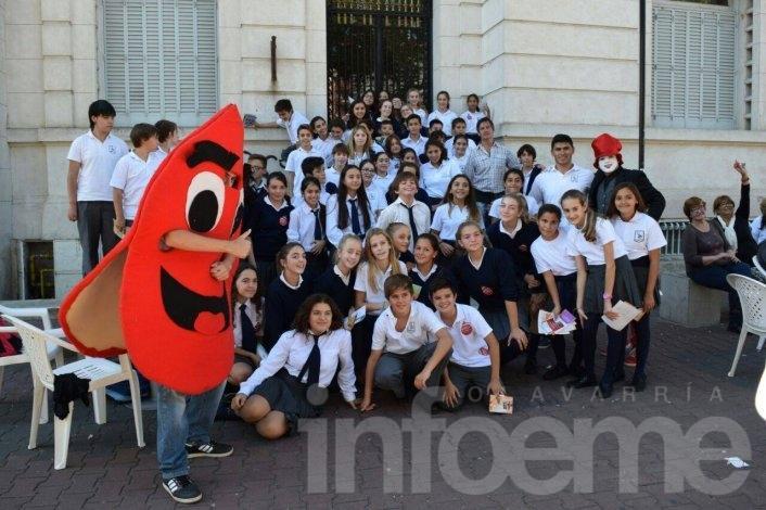 Mirá las fotos del Día Mundial de la Salud