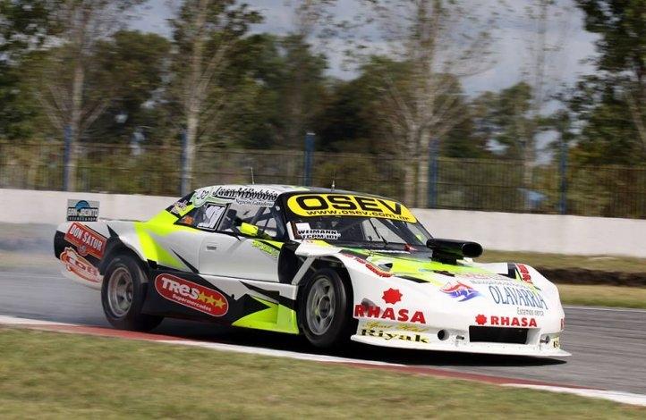 Weimann fue cuarto en La Plata