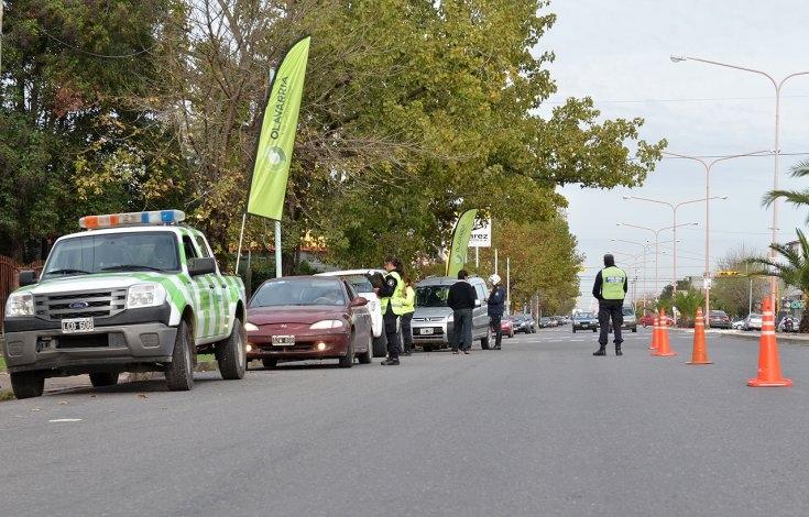 Casi 30 infracciones de tránsito por día en controles de rutina