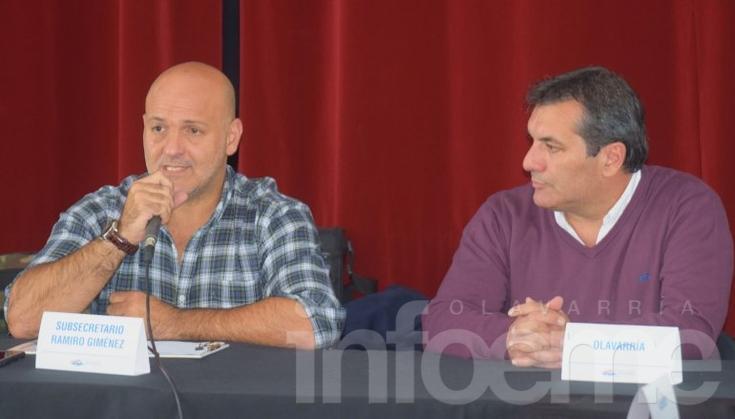 El Subsecretario de Deportes bonaerense en Olavarría