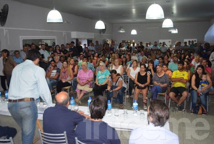"El ""Gabinete Itinerante"" llega a Loma Negra"