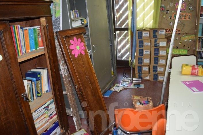 Un detenido por el robo a la Escuela Nº 24