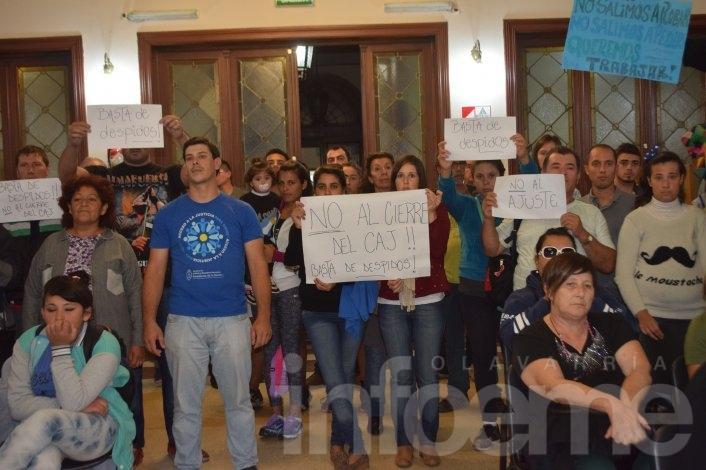 El HCD apoyó a los trabajadores del CAJ, a La Minga y las bibliotecas