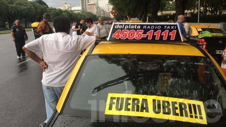 Ciudad de la furia: Buenos Aires afectada por protesta contra Uber
