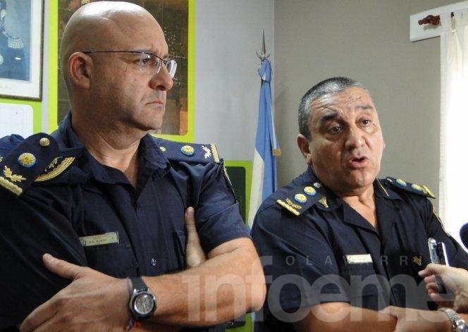 Presentaron al Comisario Mario Busto como Jefe Distrital de Policía