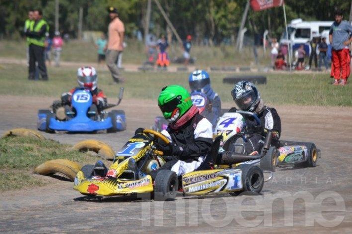 Con 132 protagonistas, el karting llega a Laprida