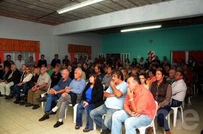 El Gabinete itinerante desembarcó en Loma Negra