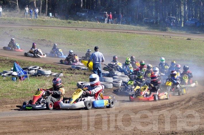 El Karting clasificó en Laprida