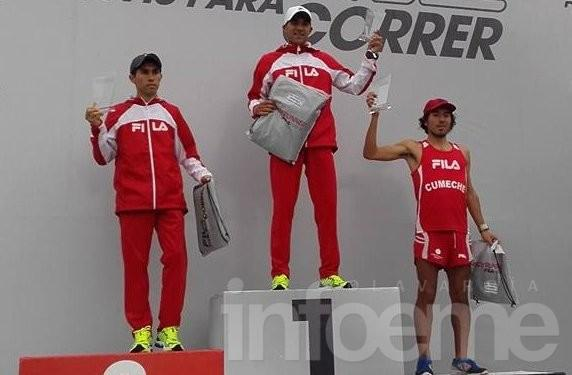 Gustavo Fernández fue segundo entre 10.000