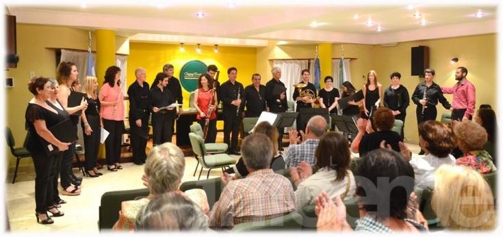 """Primer concierto del año de """"Vientos de Olavarría"""""""