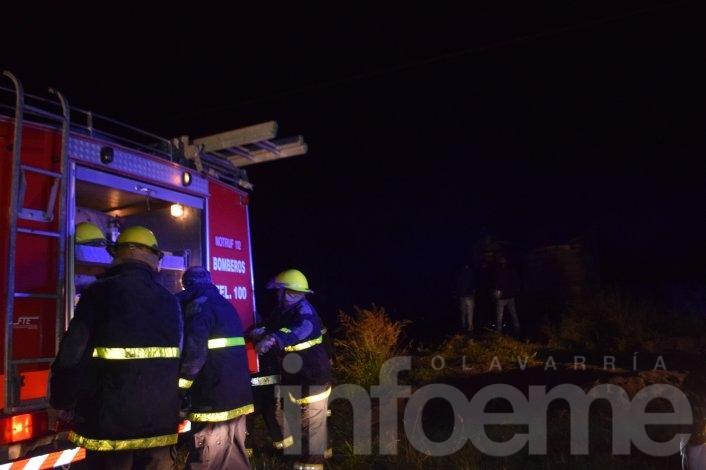Desolador: pérdidas totales a raíz de un incendio en una vivienda
