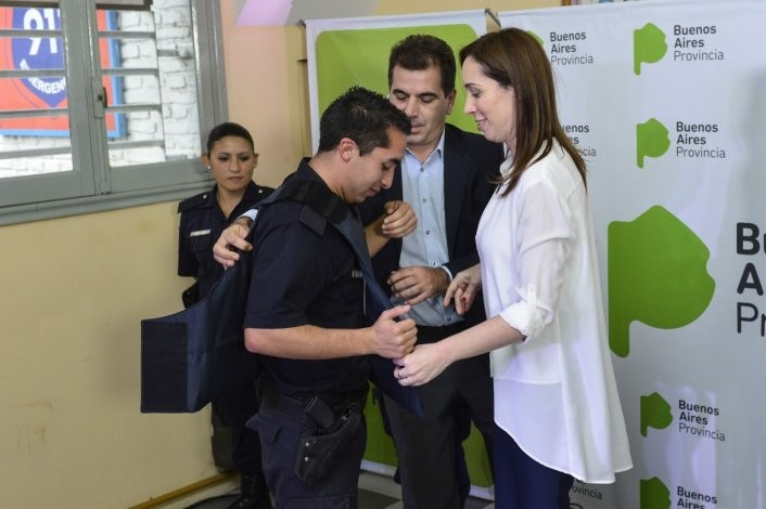 Vidal puso en marcha el Plan Integral de Seguridad