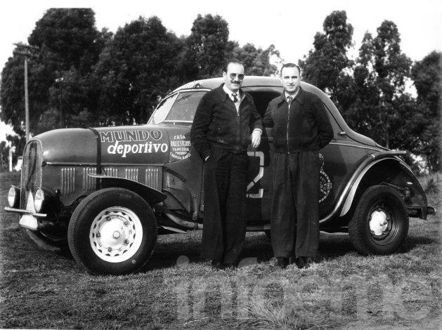 Hace 66 años los Emiliozzi debutaban en el Turismo Carretera
