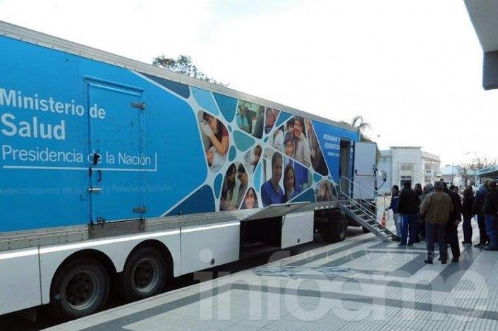 El camión sanitario estará en las localidades