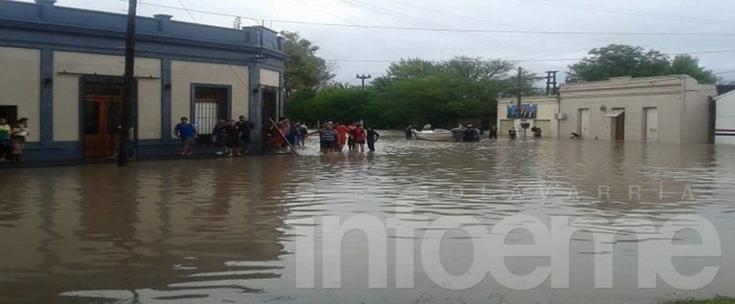 Las inundaciones en el Litoral afectan a 40 mil personas