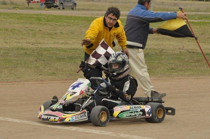 """El Karting brillo en """"El Paraíso"""" lapridense"""