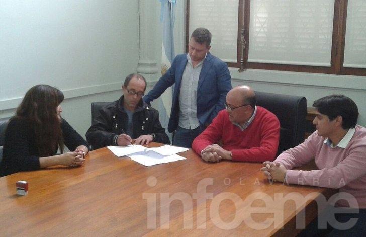 Paritarias Municipales: se firmó un acta de pre acuerdo