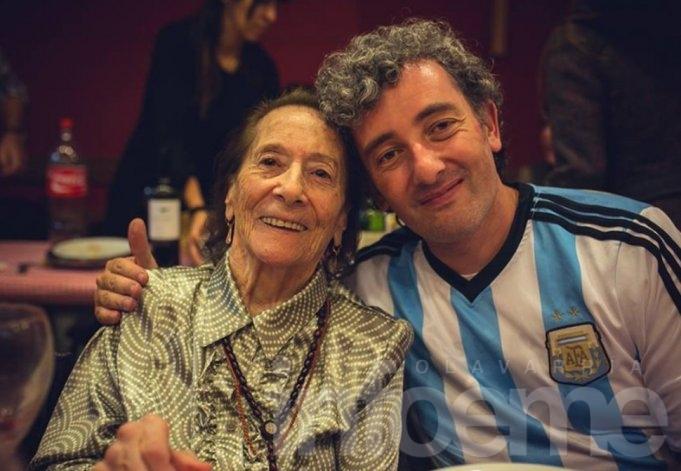 Falleció Hortensia, la abuela de Ignacio