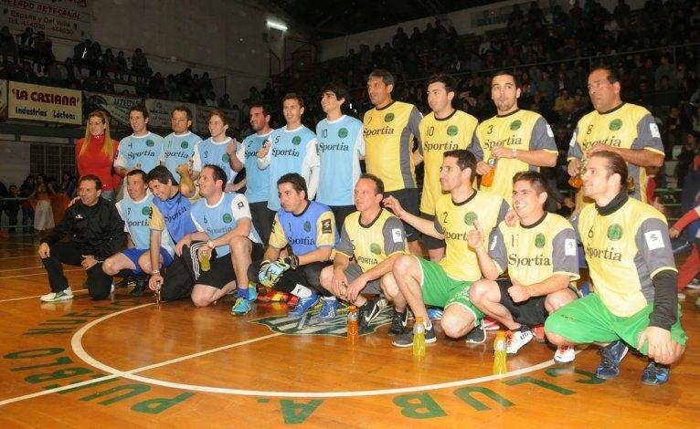 El TC juega su fútbol solidario