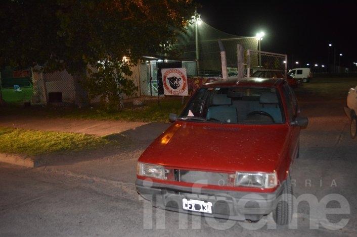 """Un joven fue atropellado en la entrada del Club """"El Fortín"""""""