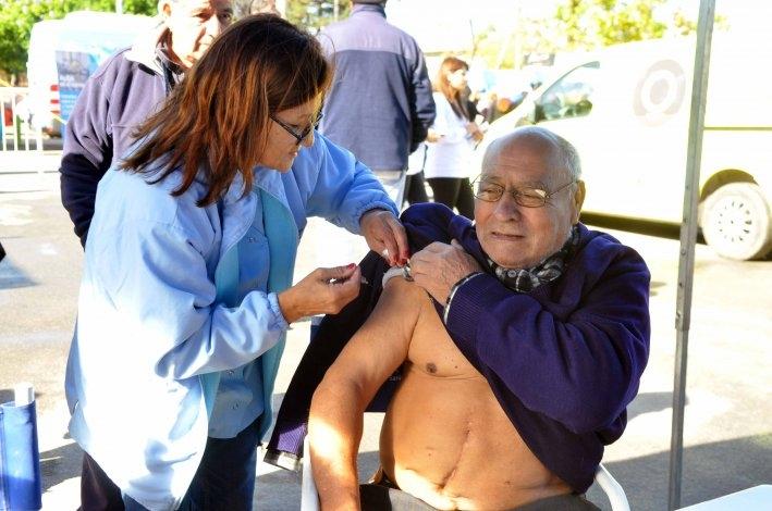 Sensaciones térmicas bajo cero que apresuran la vacunación antigripal