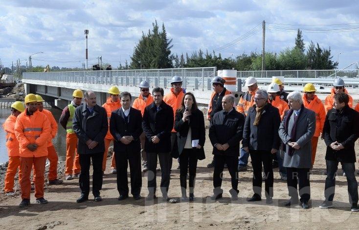 Vidal presentó el Plan Hidráulico para la Provincia