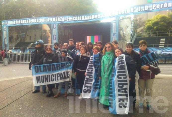 Gremios locales se suman a la movilización de las centrales sindicales