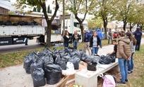 Se realizó el festival solidario para los inundados de Salto