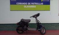 Secuestraron una motocicleta robada en febrero