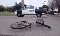 Ciclista herido al chocar con una camioneta